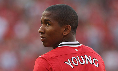Man Utd Young out for two weeks
