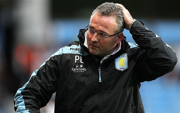 Steven Ireland faces being frozen out at Villa Park