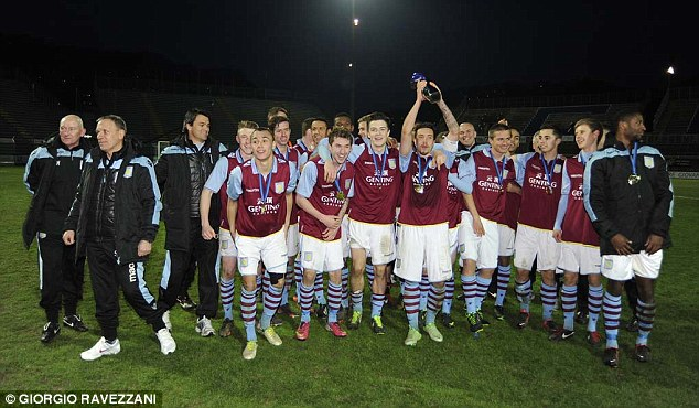 Aston Villa claim the title of the best youth team in Europe
