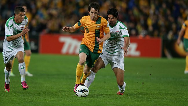 Australia qualified for 2014 World Cup in Brazil after a win over Iraq