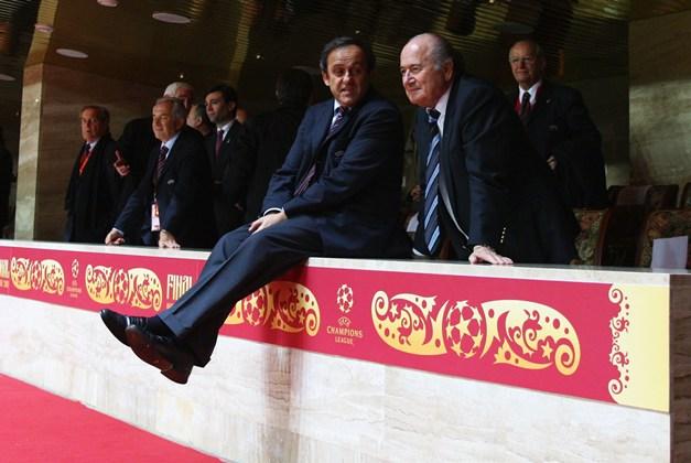 Почему Блаттер и Платини могут повернуться лицом к чемпионату СНГ. «Высокое давление»