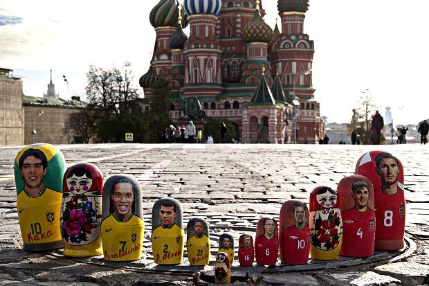 Звезды футбола на Красной площади. «А из нашего окна»