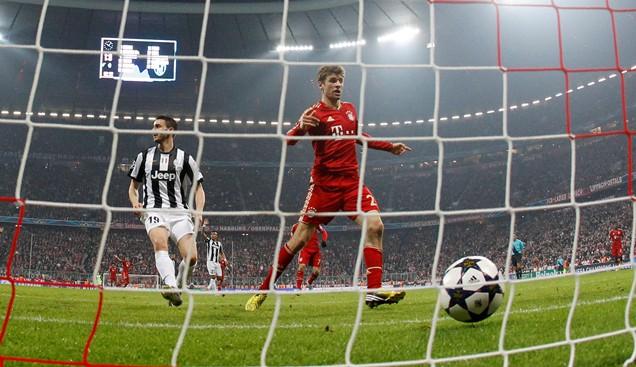 Лига чемпионов-2012/13. «Ювентус» — «Бавария». Прогноз. «Красный крест»