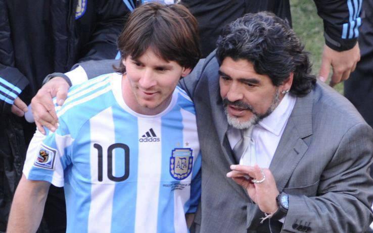 Все «десятки» сборной Аргентины после Марадоны