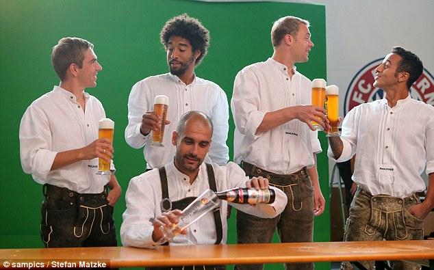 Топ-10 контрактов производителей пива с футбольными клубами и федерациями