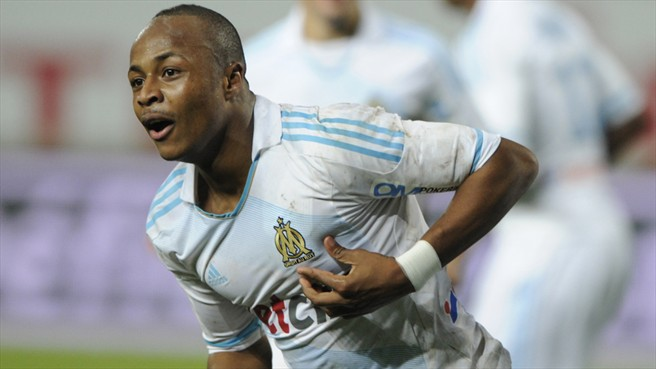 Marseille Ayew open to a move