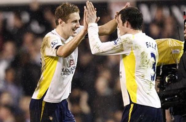 Tottenham duo returned to light training