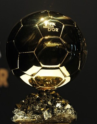 The shortlist of players for Ballon d'Or 2012 is disclosed