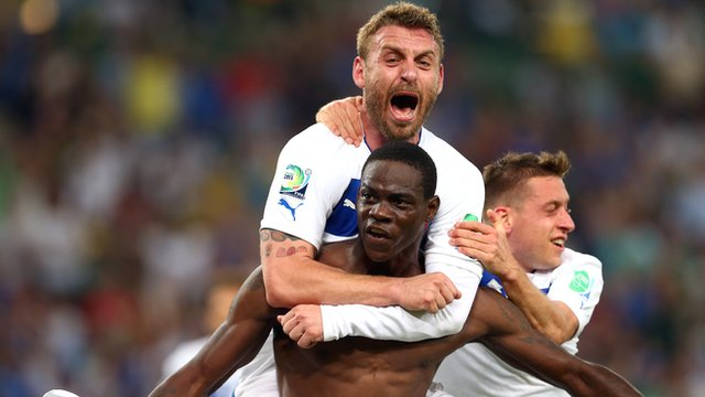 Confederations' Cup results: Pirlo and Balotelli help Italy overcome Mexico