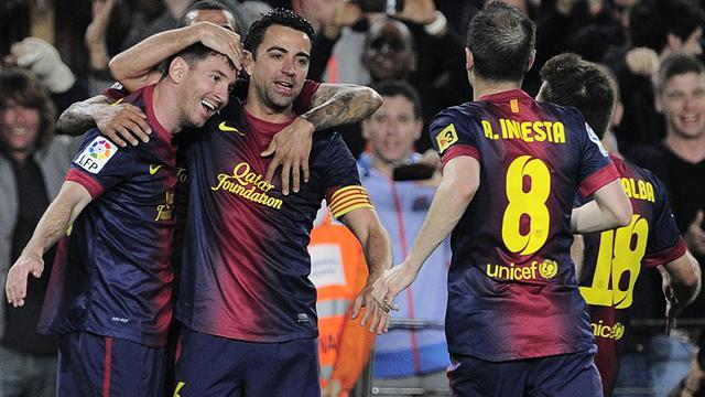 Barcelona crowned La Liga champions after a 2-1 win over Atletico Madrid
