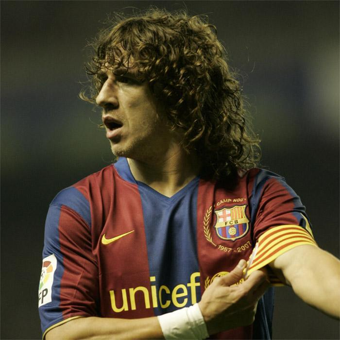 Puyol started training