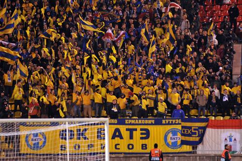 БАТЭ вышел в третий квалификационный раунд Лиги чемпионов