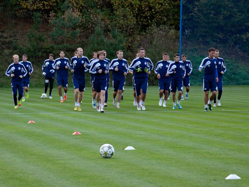 БАТЭ провел последнюю тренировку перед матчем с «Баварией»