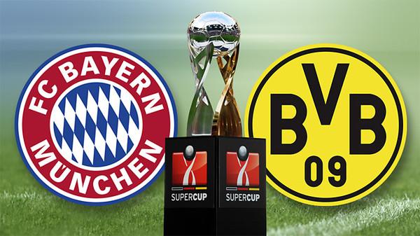 Суперкубок Германии. «Бавария» оказалась сильнее дортмундской «Боруссии»