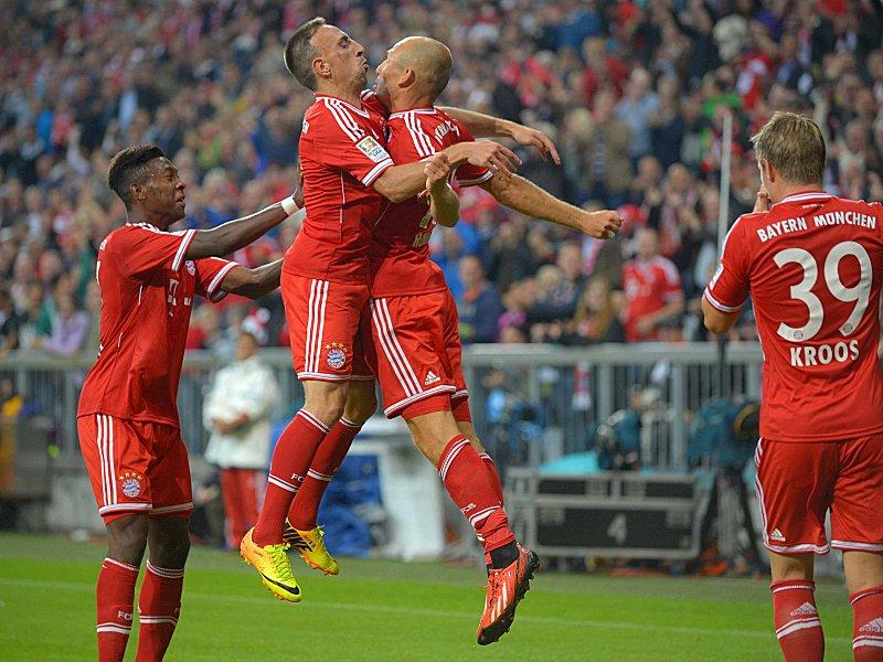 Немецкая Бундеслига, 1-й тур. «Бавария» — «Боруссия» (Менхенгладбах) — 3:1. «Чемпион начинает и выигрывает»