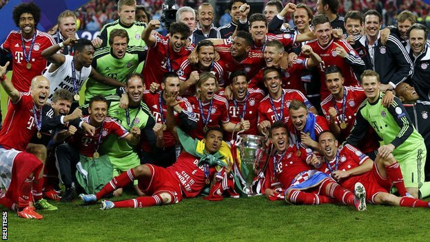 Robben's late goal earns Bayern Munich the Champions League trophy