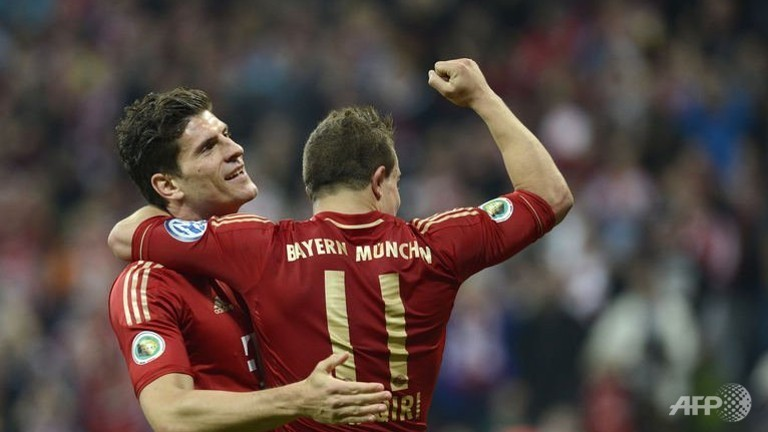 Bayern through to the DFB Pokal final