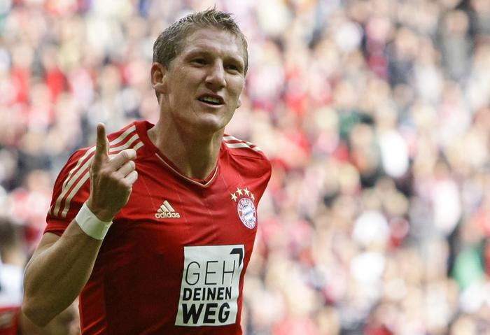 Schweinsteiger will miss Saturday game against Schalke