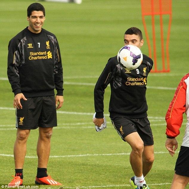 Суарес вернулся в основной состав «Ливерпуля» (ФОТО)