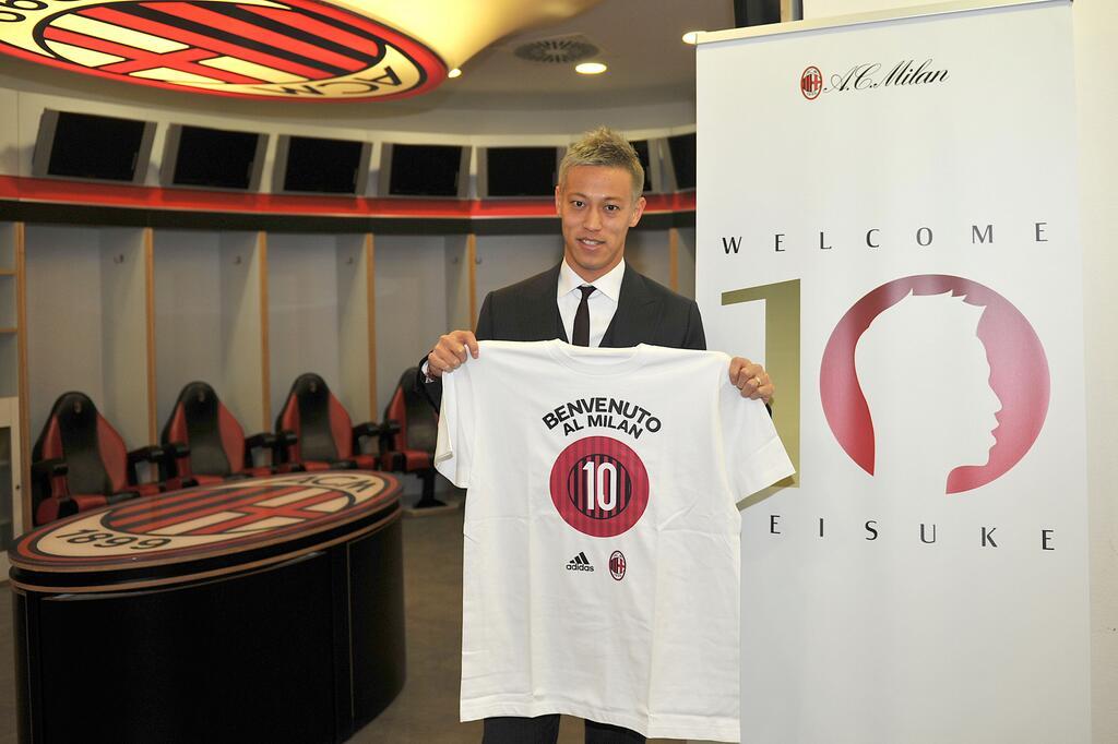 Кейсуке Хонда: «В 12 лет я написал сочинение о том, что хочу играть в «Милане» под десятым номером»