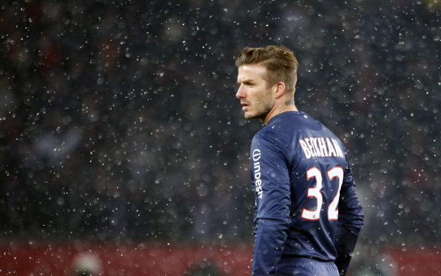 Beckham in contract talks with PSG