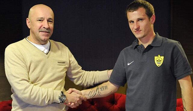 Александр Алиев: «Очень рад, что стал игроком «Анжи»