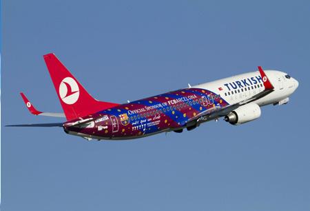 Авиарейсы «Барселоны» будут сопровождаться экипажем исключительно женского пола