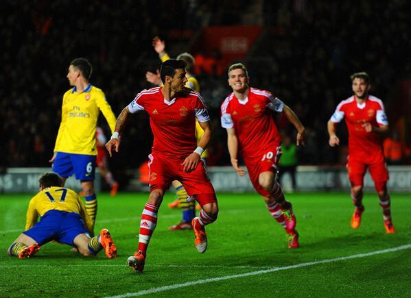Английская Премьер-лига. «Саутгемптон» — «Арсенал» — 2:2. Хроника событий