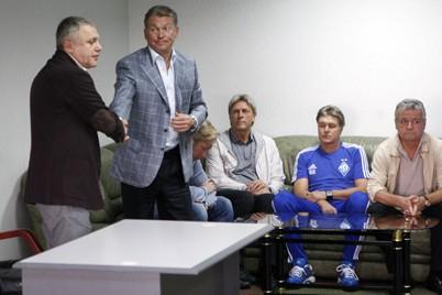 Блохин представлен игрокам киевского «Динамо»