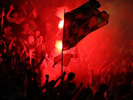 В Москве произошли стычки фанатов «Анжи» и столичных команд