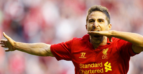 Liverpool forward Borini returns to full training