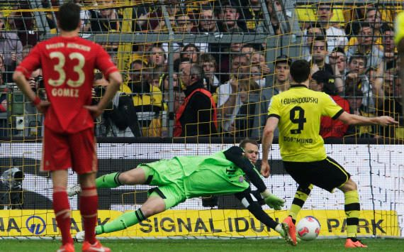 Bundesliga results: Borussia and Bayern drew 1-1 in the Champions League dress rehearsal