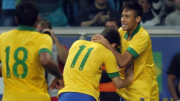 International friendly result: Brazil 3-0 France