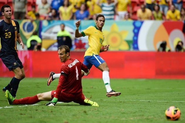 Товарищеские матчи. Сборная Бразилии нанесла унизительное поражение австралийцам
