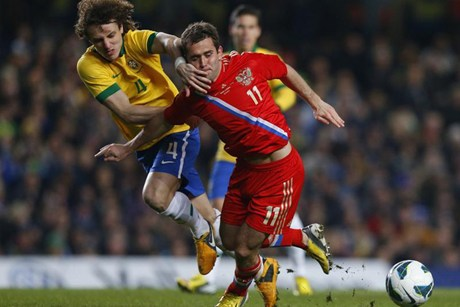International friendy: Fred scores late goal to hold Russia to a 1-1 draw