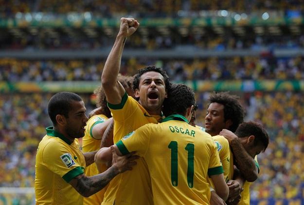 Кубок конфедераций. Финал. Бразилия — Испания — 3:0. Хроника событий