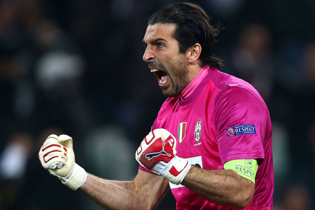 Buffon signed a new deal with Juve