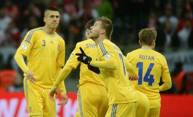 Чемпионат мира-2014. Украина — Молдова — 2:1. Хроника моментов