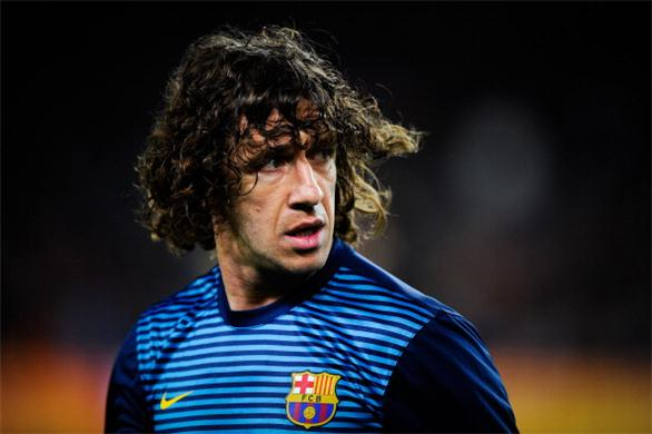 Puyol signed a new deal with Barca