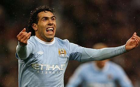 Manchester City's Tevez is close to joining AC Milan