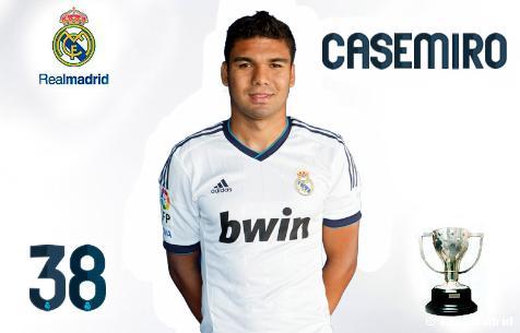 Каземиро подписал четырехлетний контракт с «Реалом» (ФОТО)