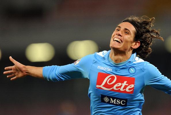 Napoli Cavani admitted he would like to play under Pellegrini or Mourinho