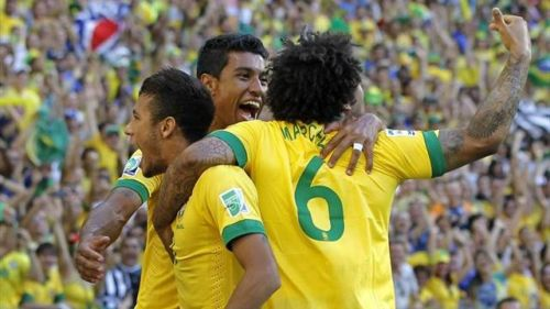 Кубок конфедераций-2013. Сборная Бразилии обыграла команду Италии