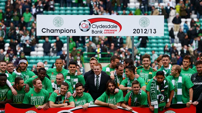 Celtic claim 44th Scottish title