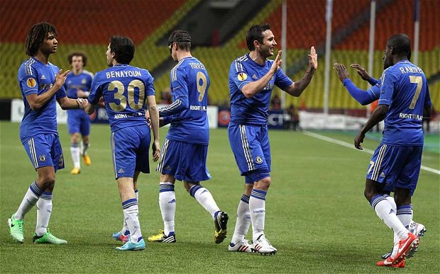Europa League results: Rubin 3-2 Chelsea