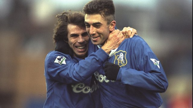 Zola can be named next Chelsea manager
