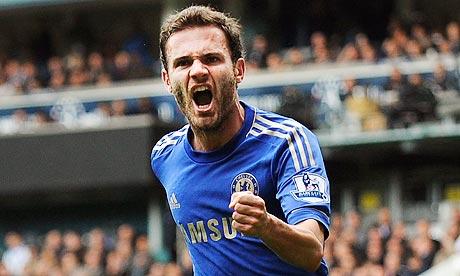 Chelsea Mata is Barcelona's transfer target