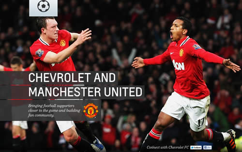 Chevrolet completes a sponsorship deal with United