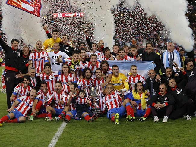 Atletico Madrid crowned Copa del Rey champions after beating Real Madrid 2-1