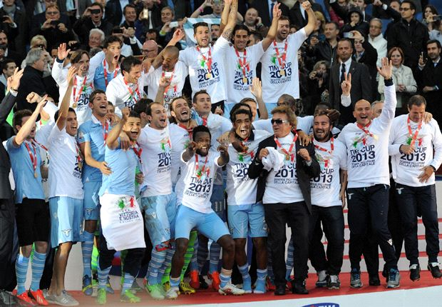 Lazio claims Coppa Italia in Roman derby